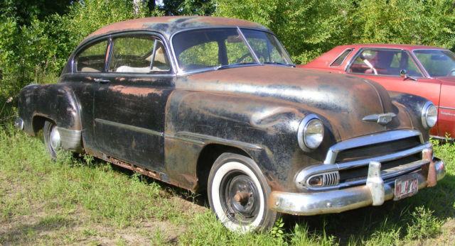 1951 chevrolet fleetline 2door fastback project or parts for 1949 chevy fleetline 2 door for sale