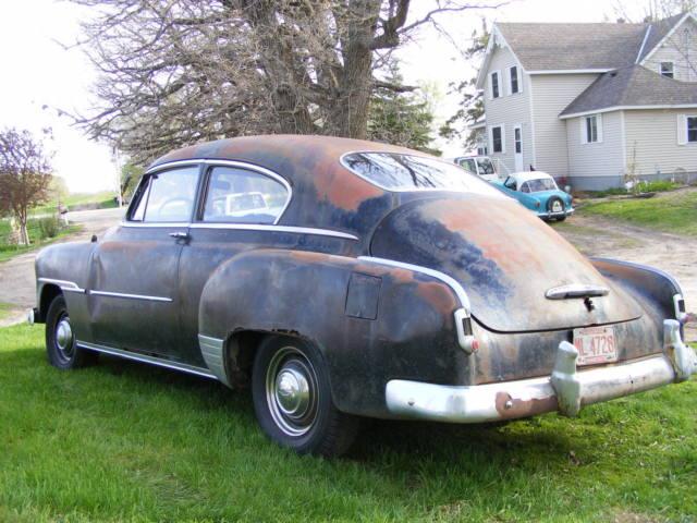 1951 chevrolet fleetline 2door fastback project parts 1949 for 1949 chevy fleetline 2 door for sale