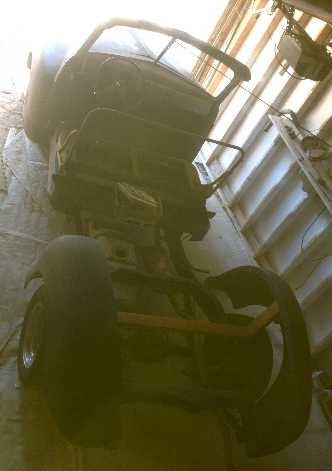 1951 Chevrolet Truck WOODY project on S10 frame 1947 1948