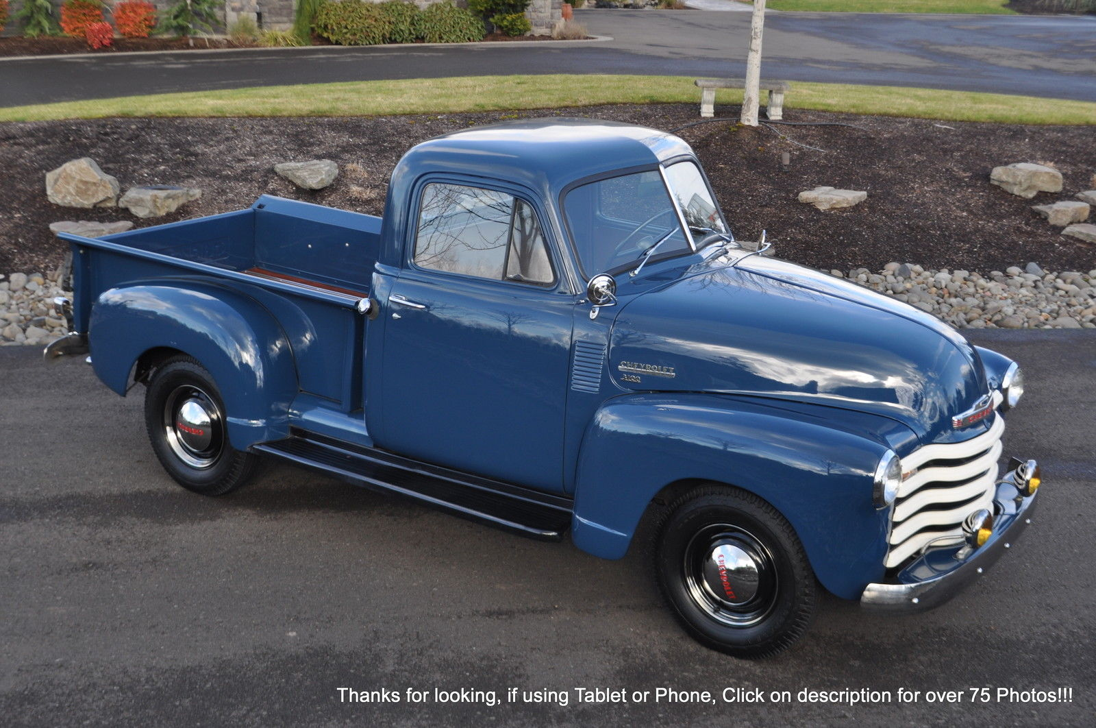 1951 Chevy 3100 1 2 Short Bed 216 Unitied States Air Force Usaf Vin Tag Chevrolet Other Pickups No Reserve Prevnext