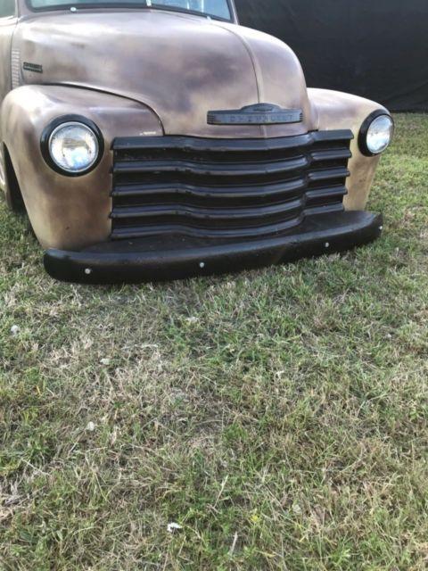1951 chevy truck 3100  ls1 swap