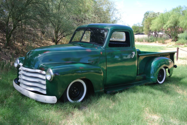 1951 Chevy Truck Pick Up Short Bed Air Bags 3100 Chevrolet Classic Chevrolet Other Pickups 1951 For Sale