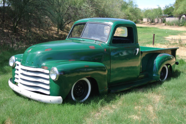 1951 Chevy Truck Pick Up Short Bed Air Bags 3100 Chevrolet