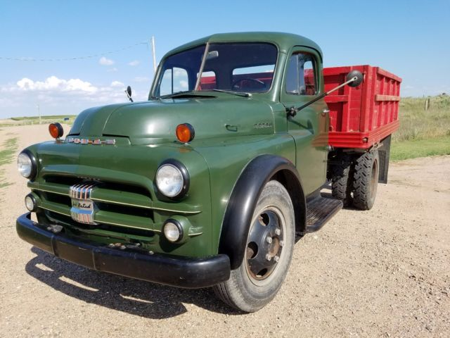 1951 Dodge B 3 G 1 1 2 Ton Truck Farm Work Dump Shop Mopar