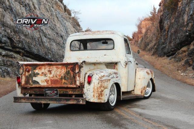 1951 ford f 1 rat rod pickup restomod v8 auto pdb ps patina nice 1951 Ford Truck prevnext