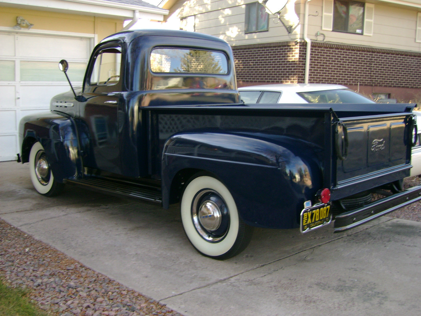 1951 Ford F 100 Pick Up Truck Gorgeuos Show Quality Washington Blue 1949 F1 For Sale Original 150