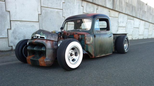 Ford F Rat Rod Rat Rod Magazine Build Off Competitor Pickup Truck