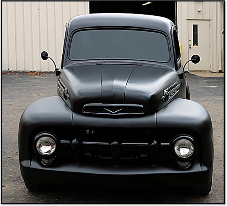 Build A Truck Ford: 1951 Ford F1 Street Rod Truck Ground Up Build Hot Rod