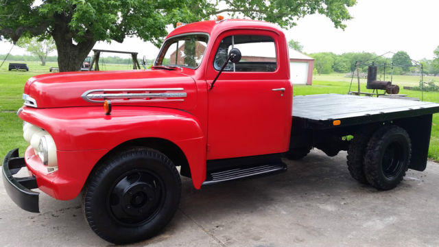 1951 Ford F4 Stakebed Classic Ford Other Pickups 1951