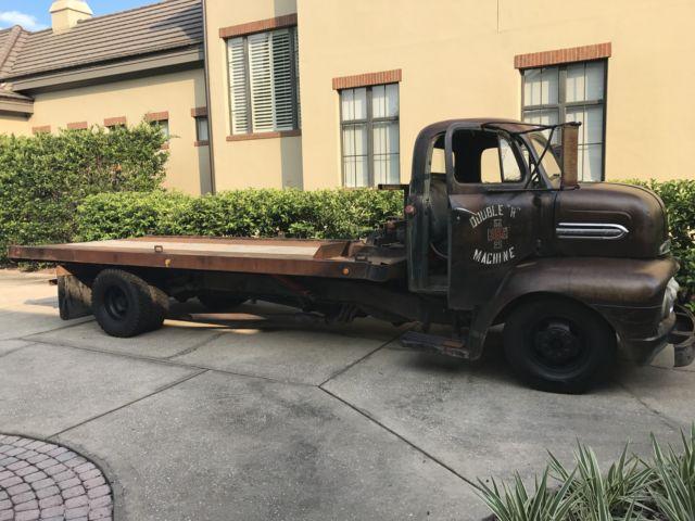 Ford F Cabover Coe Pickup Truck Tilt Bed Hauler