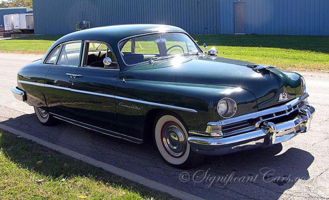1951 Lincoln Cosmopolitan 4 Door Sedan Rare Classic
