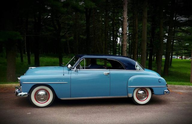 1951 Plymouth Belvedere Hardtop Coupe Classic Plymouth