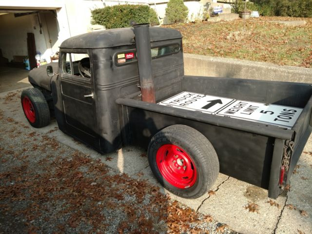 1951 willys jeep pickup rat rod classic willys 1951 for sale. Black Bedroom Furniture Sets. Home Design Ideas
