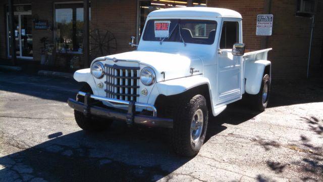 1951 Willys Jeep Truck 1-Ton 2.2L