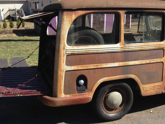 1951 Willys Overland Jeep Wagon Restoration Project ...