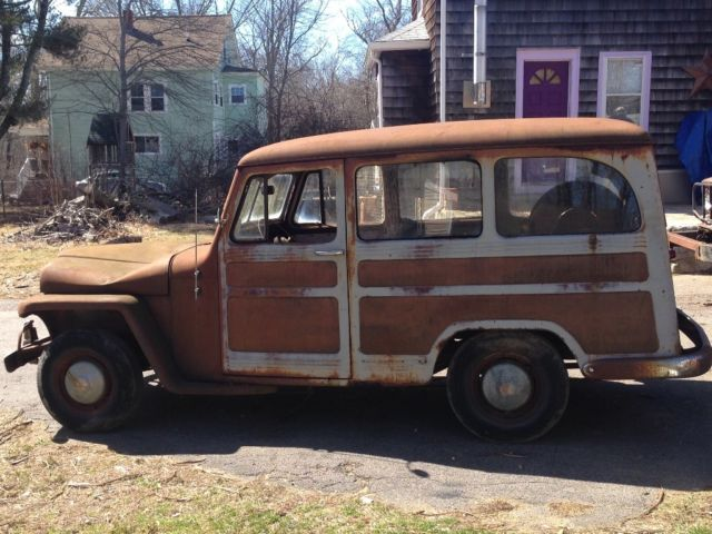 1951 Willys Overland Jeep Wagon Restoration Project