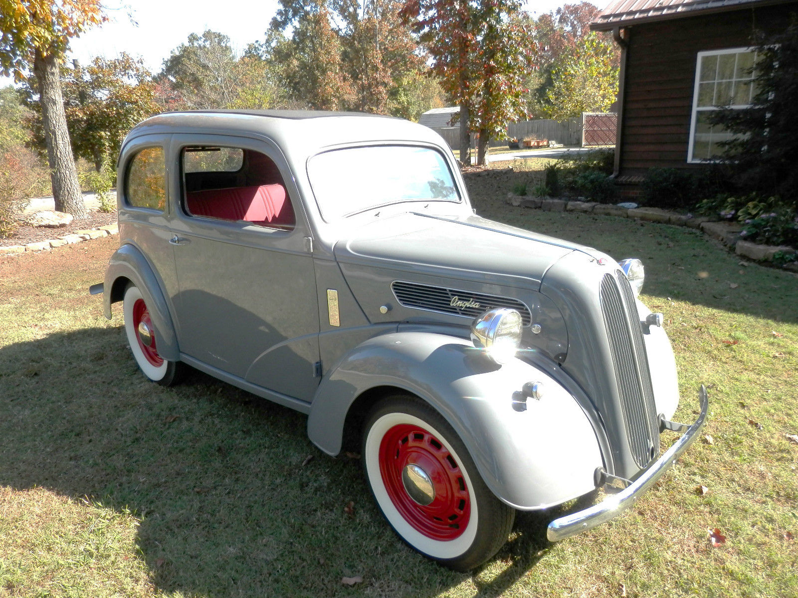 1952 anglia english ford low miles fully restored custom. Black Bedroom Furniture Sets. Home Design Ideas