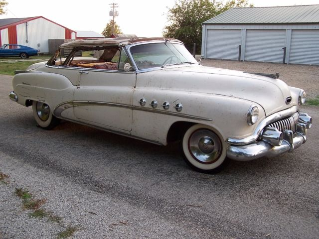 1952 Buick Roadmaster Convertible 48 000k Solid Ie 1970