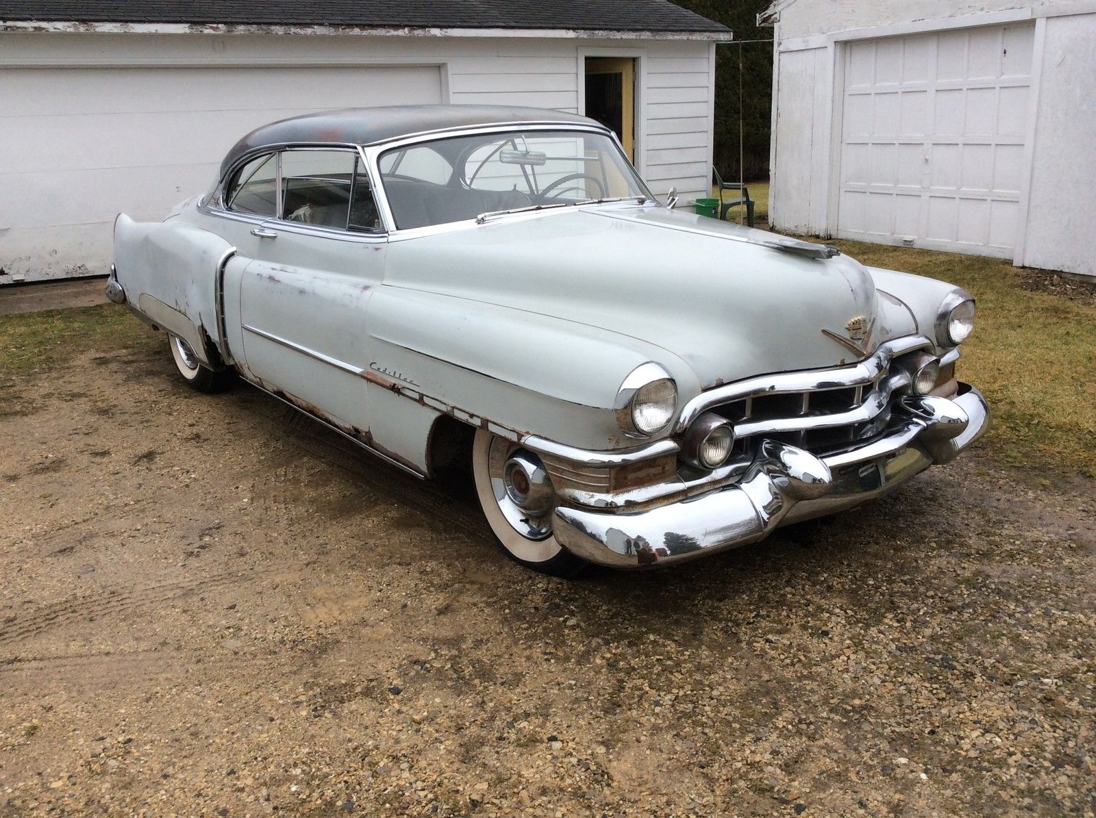 1952 cadillac coupe deville complete all original 58 000 miles 000 obo classic cadillac. Black Bedroom Furniture Sets. Home Design Ideas