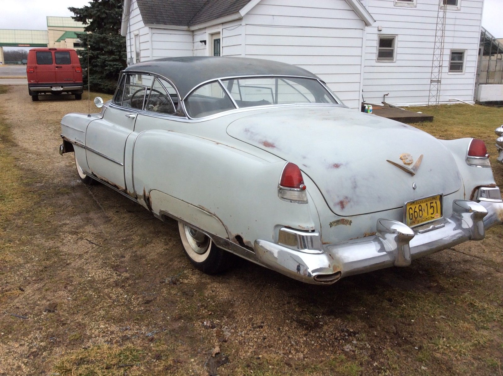 1952 Cadillac Coupe Deville Complete All Original 58 000