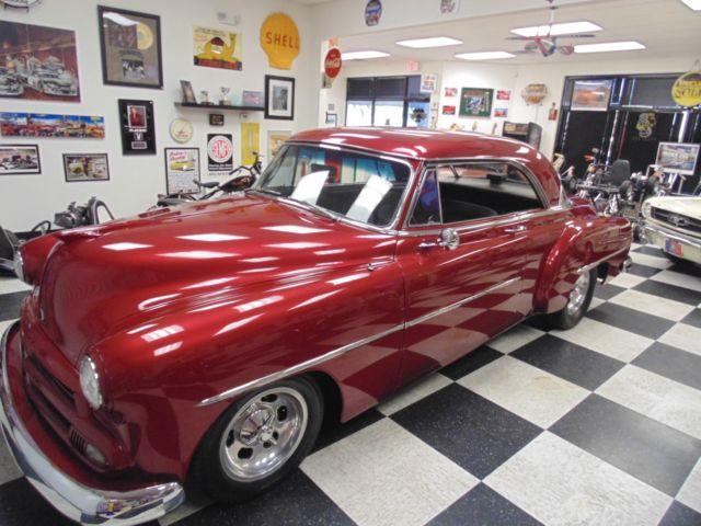 1952 chevrolet custom street rod master deluxe two door for 1952 chevy two door hardtop