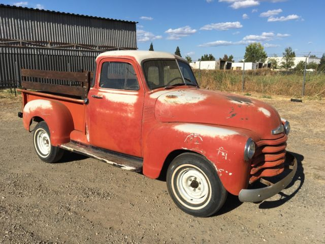 1952 chevrolet pickup 5 window california truck for 1952 chevy pickup 5 window