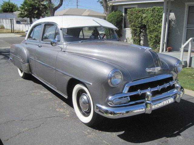 1952 chevrolet styleline deluxe 6 passenger 4 door sedan for 1952 chevy 4 door