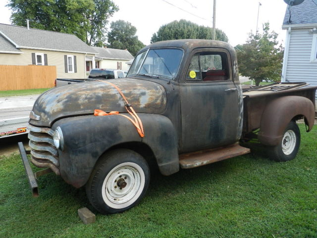 1952 Chevy 1 2 Ton Pickup 47 48 49 50 51 53 54 Chevy