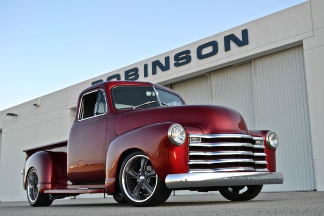 1952 chevy 3100 5 window truck restomod camaro clip 350 for 1952 5 window chevy truck
