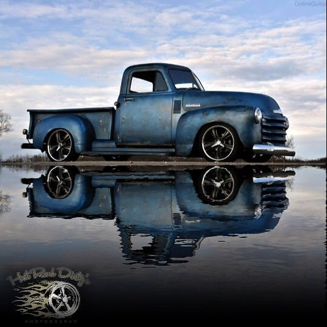 1952 Chevy 3100 Hot Rod Rat Pickup Truck Patina Shop No