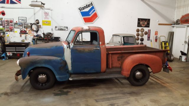 1952 Chevy 3100 Pickup Truck Short Bed 47-54