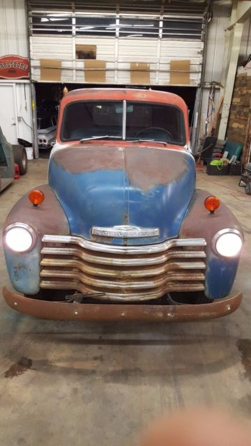 1952 Chevy 3100 Pickup Truck Short Bed 47 54 Classic