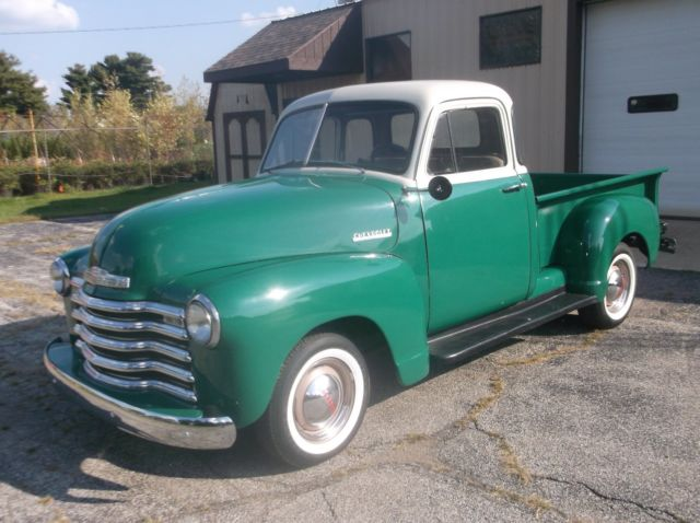 1952 chevy 5 window pickup classic chevrolet other for 1952 chevy truck 5 window