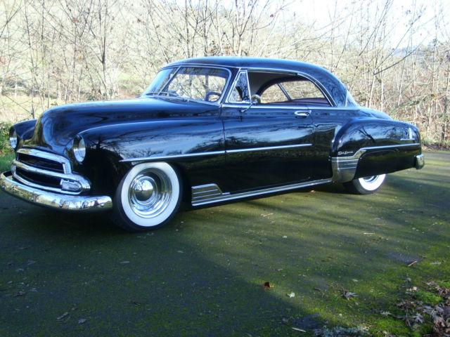 1952 chevy belair 2 door hardtop mild custom hot rod for 1952 chevy 2 door hardtop