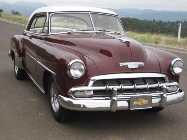 1952 chevy belair two door hardtop classic chevrolet bel for 1952 chevy 2 door hardtop