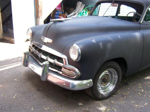 1952 Chevy Fleetline Deluxe 2 Door 235 Cu In Classic