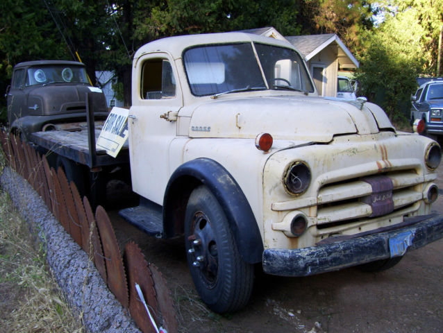 1952 Dodge B series B3GA, 1.5 ton flatbed truck, straight cab Clear title - Classic Dodge Other ...