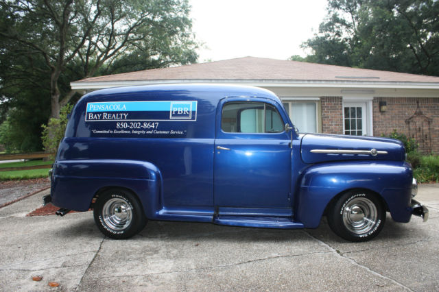 1952 Ford F 1 Panel Truck With Updated Features Classic