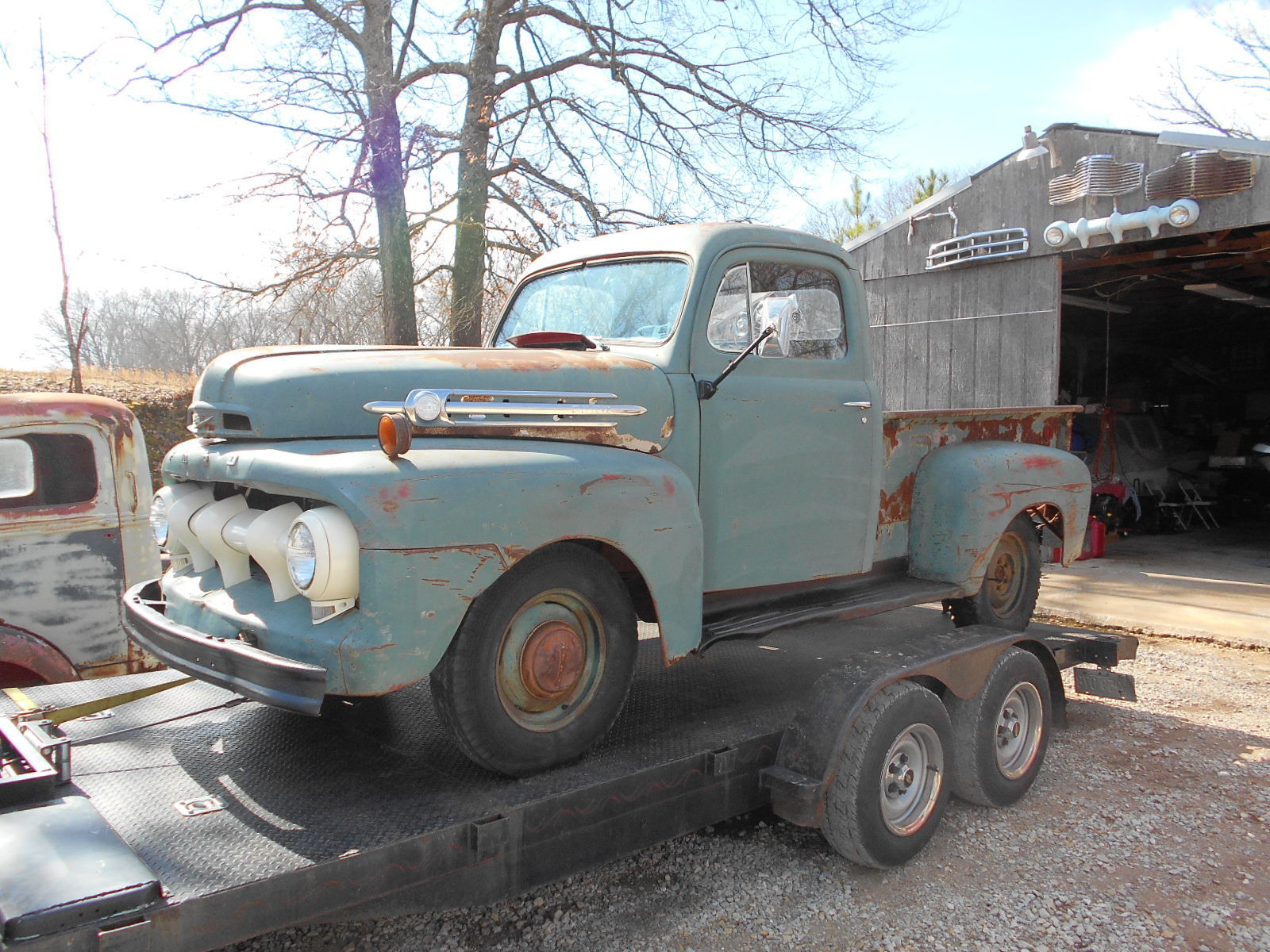 1952 Ford Pickup Truck 5 Star Cab Deluxe Ford F1 Pickup