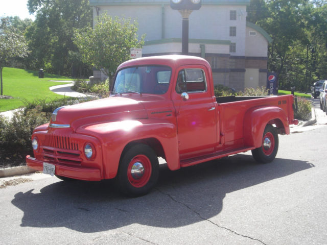 1952 International Harvester L110 Half Ton Pickup Truck IHC