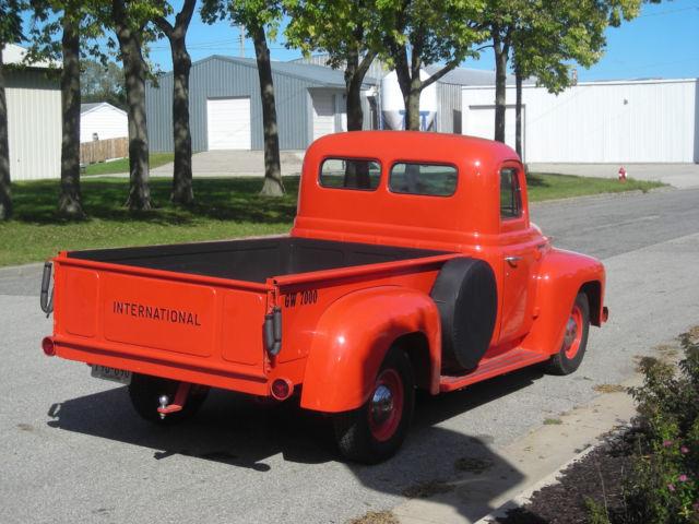 Half Ton Truck >> 1952 International Harvester L110 Half Ton Pickup Truck ...
