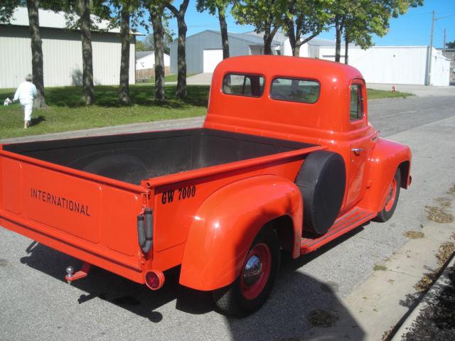 1952 international harvester l110 half ton pickup truck ihc classic international harvester. Black Bedroom Furniture Sets. Home Design Ideas
