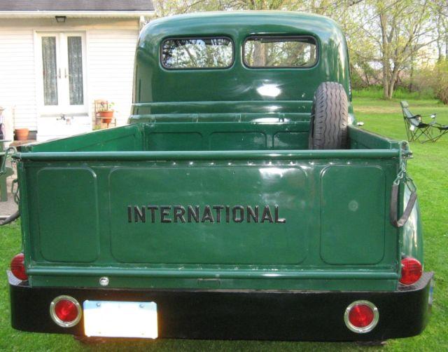 1952 International L-110 Pickup w/ 220 Engine restored ...