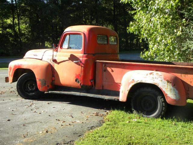 1952 International L 112 Pickup Truck- Tennessee Whiskey
