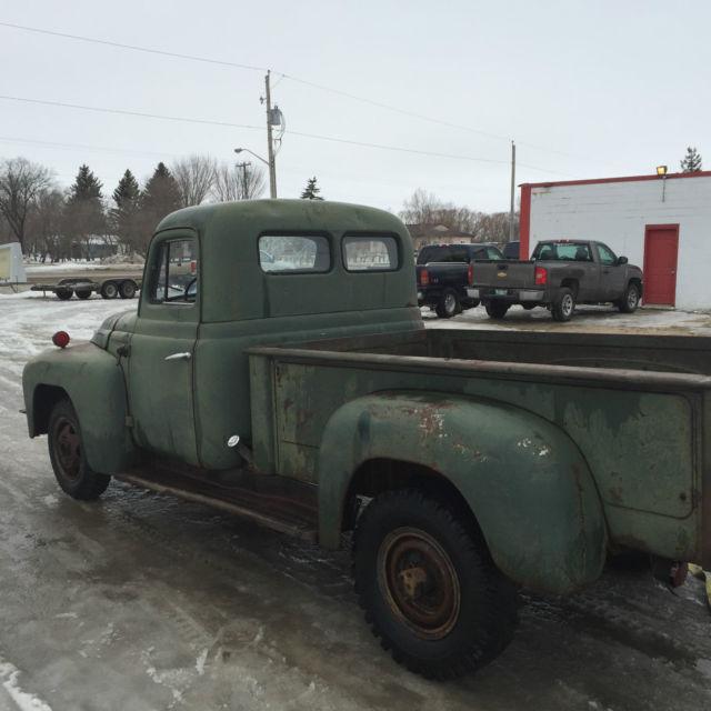 1952 International L120 Pickup Truck Complete manual hotrod