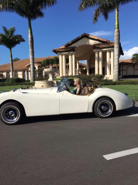 Naples Car Show >> 1952 Jaguar XK 120 Roadster Replica - Classic Jaguar XK 1952 for sale