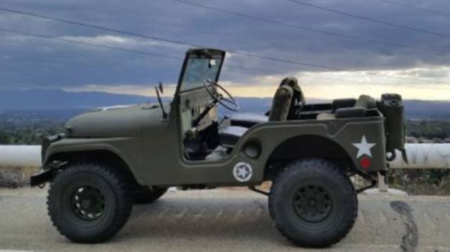 Jeep Cj Military Issued Willys M A on 1952 Willys Jeep M38 For Sale