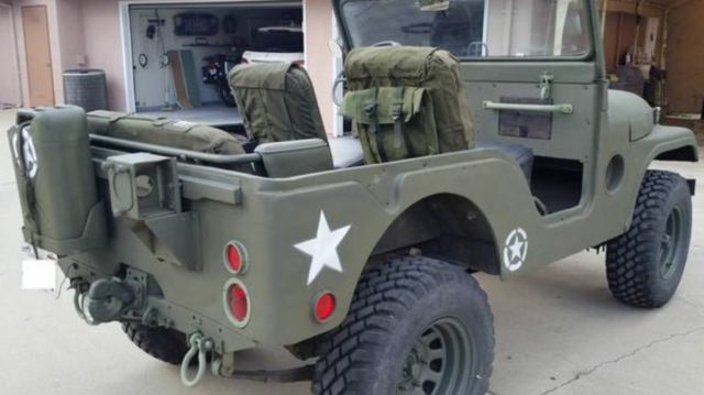 1952 Jeep Cj5 Military Issued Willys M38a 1 Classic