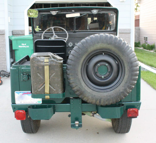 1952 M38A1 Willys Army Jeep