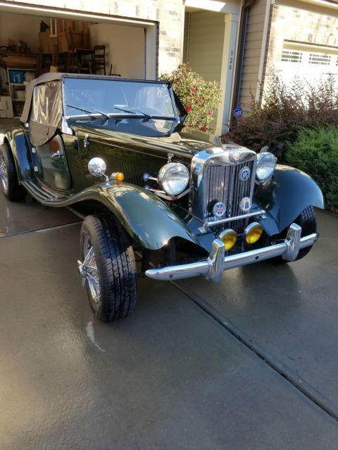 1952 Mg Td Convertable Hand Built Replica By Fiber Fab In